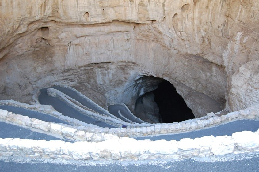 ingresso principale delle Carlsbad Caverns