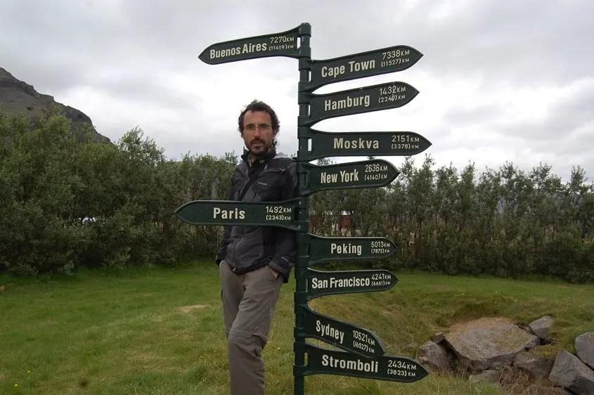 Islanda monumento verne