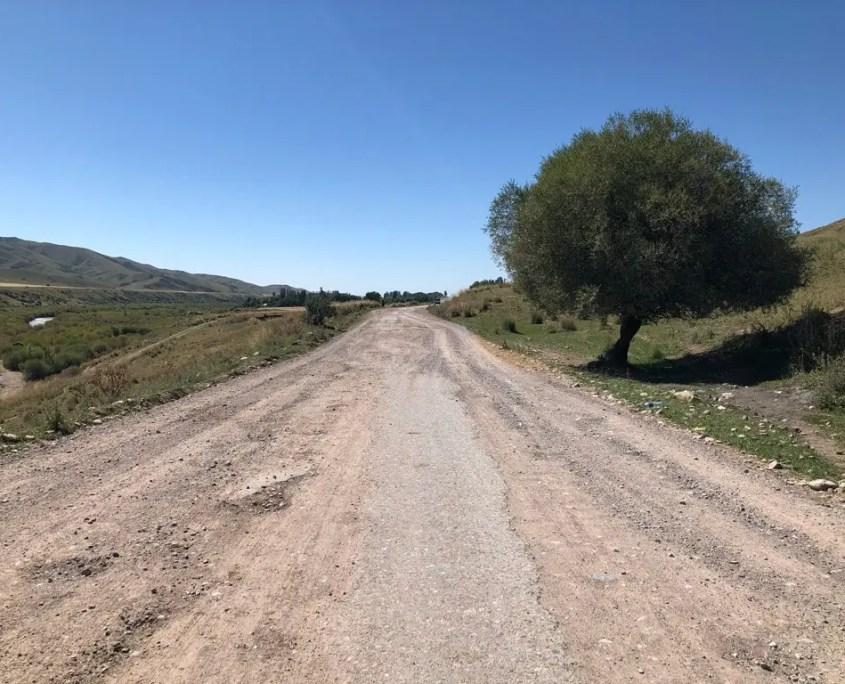 kirghizistan condizioni strade