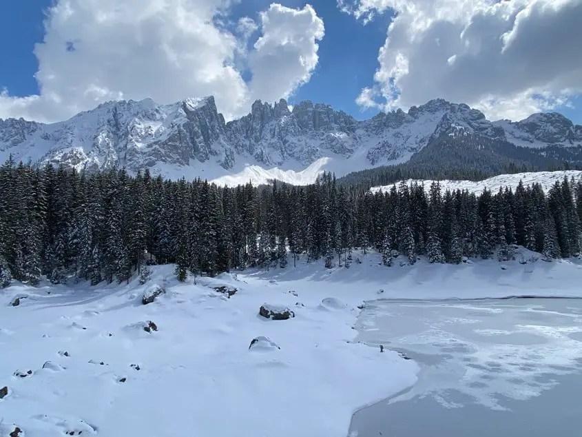 Lago di Carezza aprile 2021