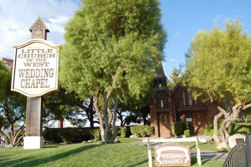 Little Church Of The West a Las Vegas
