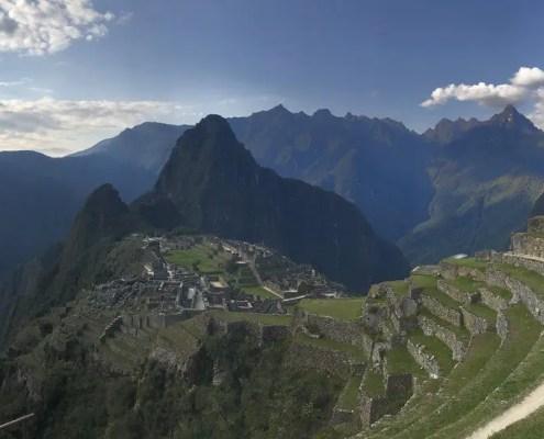 Machu Picchu al tramonto