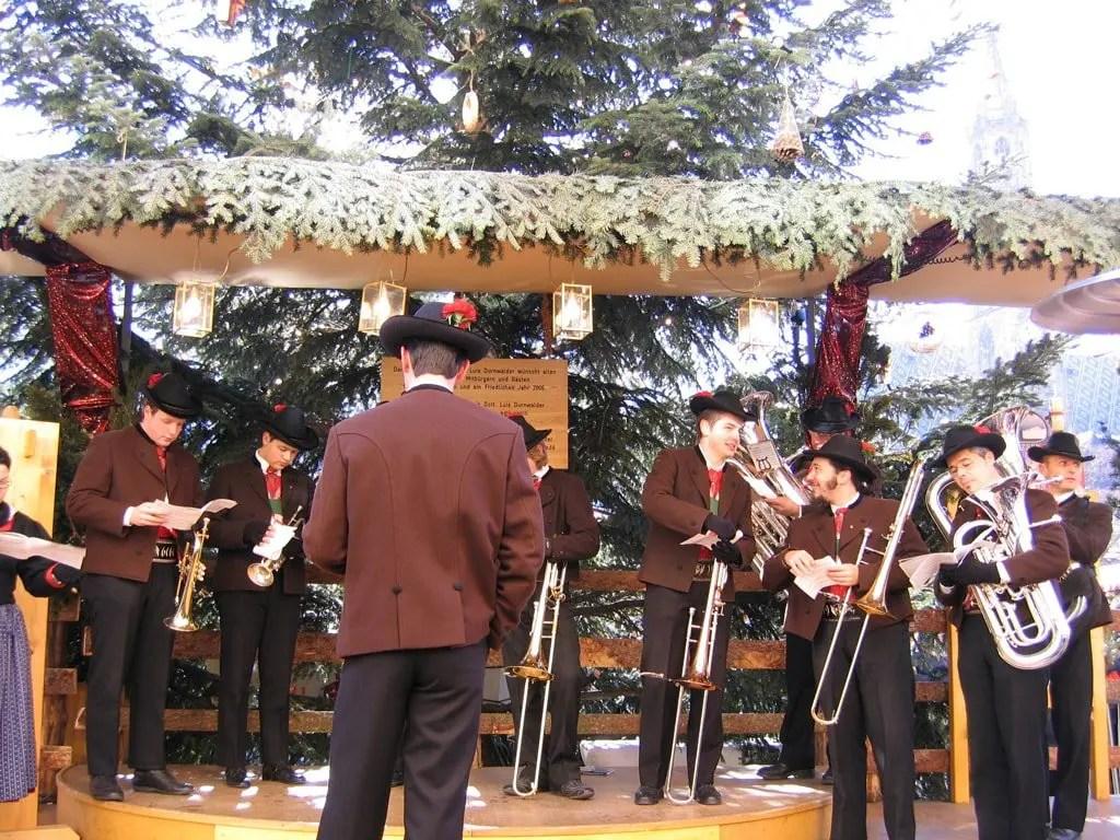 Mercatini di Natale banda musicale