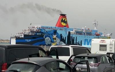 Moby Niki al porto di Piombino