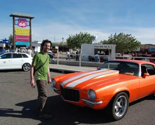 Mostra di auto d'epoca a Seligman