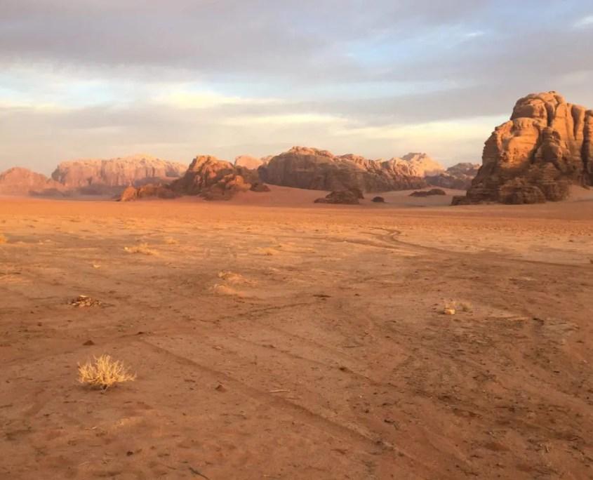 Panorama del Wadi Rum