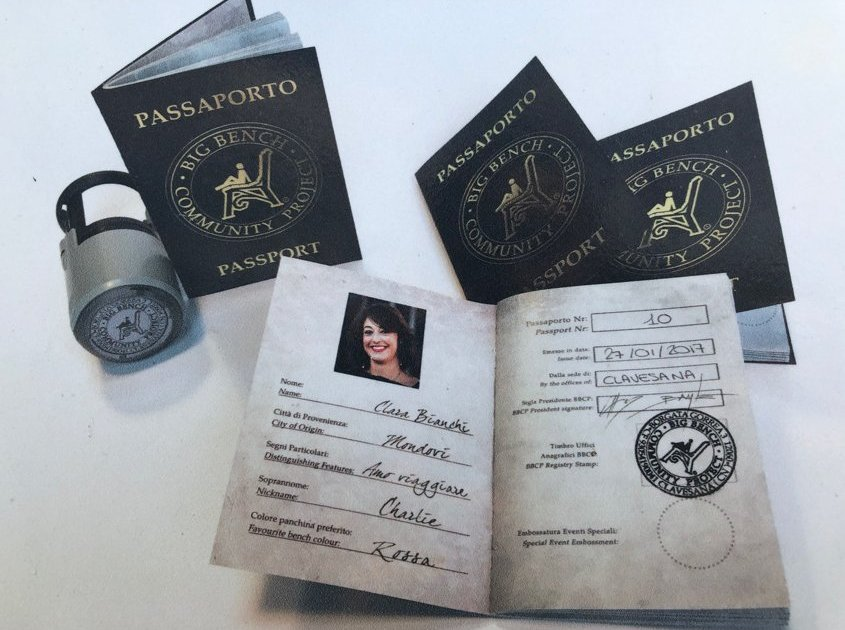 Passaporto panchine giganti
