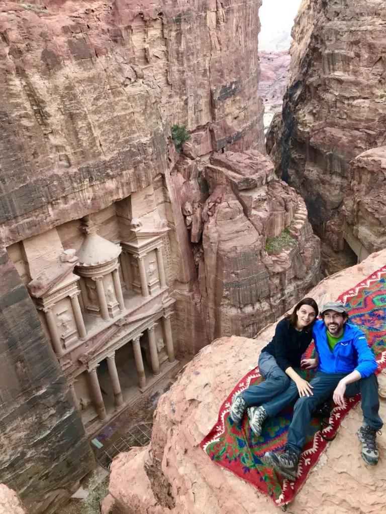 Punto panoramico sopra Petra