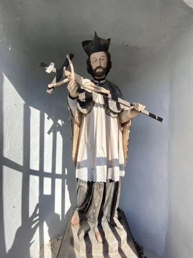 Santo della cappella della katzenleiter