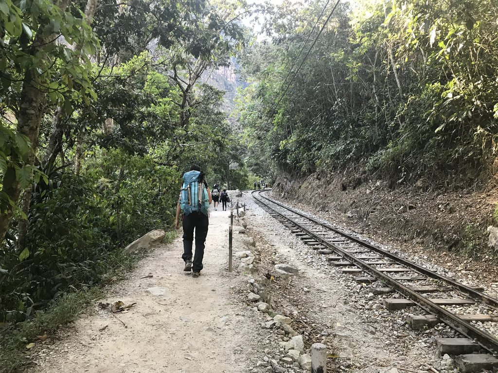 Seguiamo i binari della ferrovia