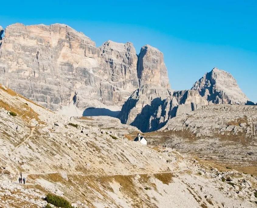 Sentiero da Rifugio Auronzo a Forcella