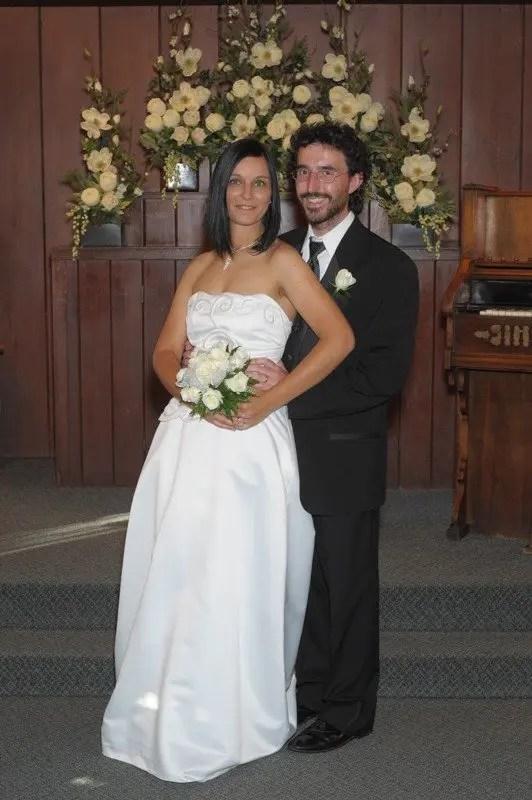 Foto scattata dal fotografo in chiesa