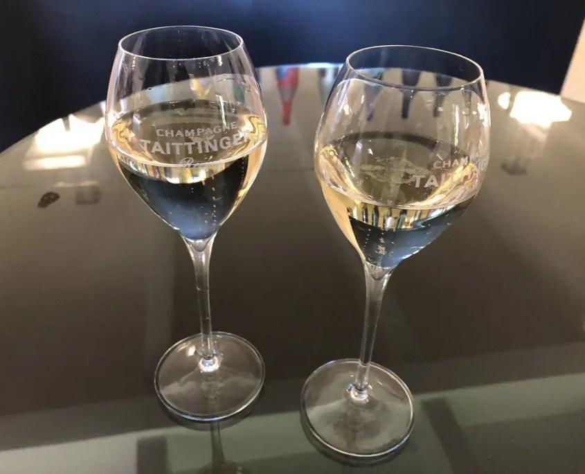 taittinger bicchieri x degustazione