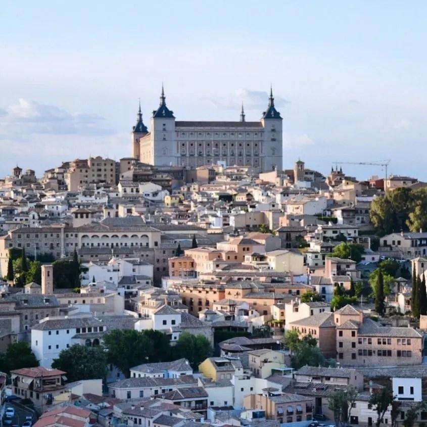 Panorama di Toledo