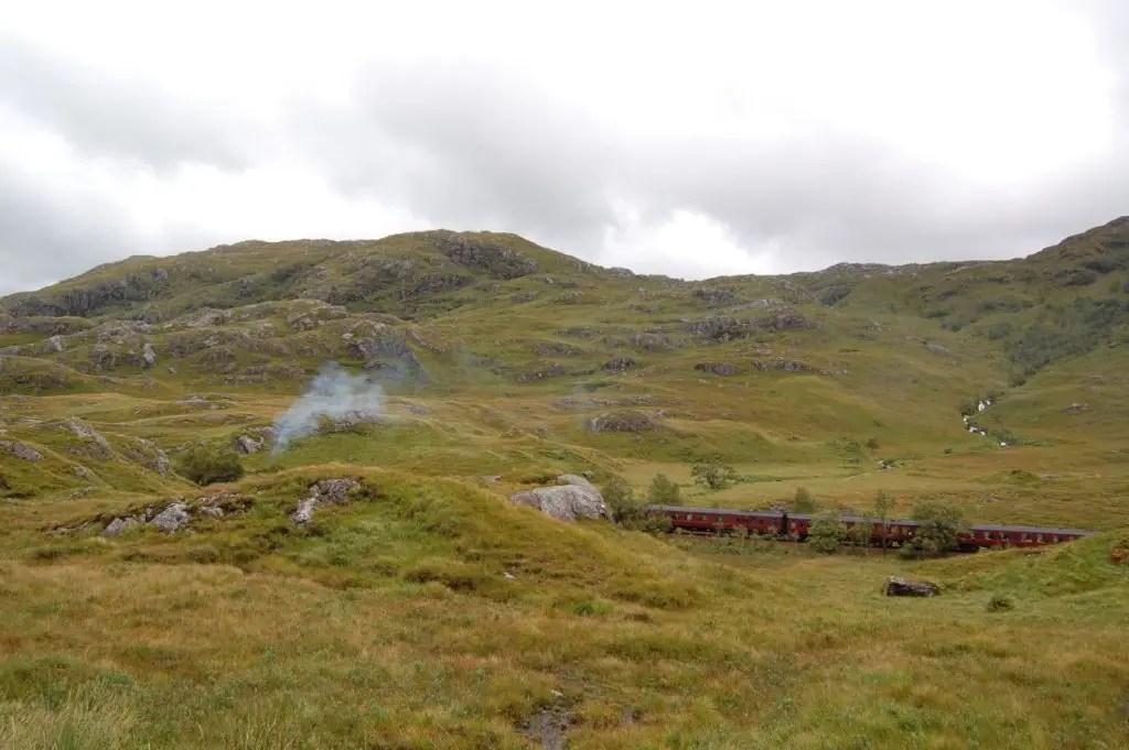 treno Harry Potter