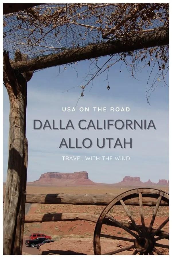 Usa On The Road - Dalla California allo Utah