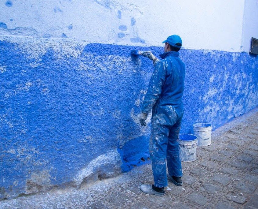 verniciamo di blu chefchaoeun