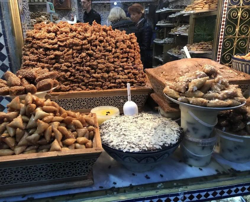 vetrina dolci marocchini