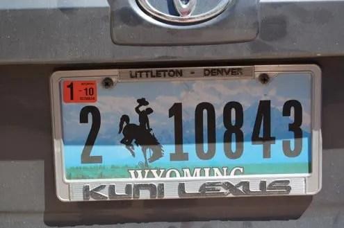 Targa Wyoming