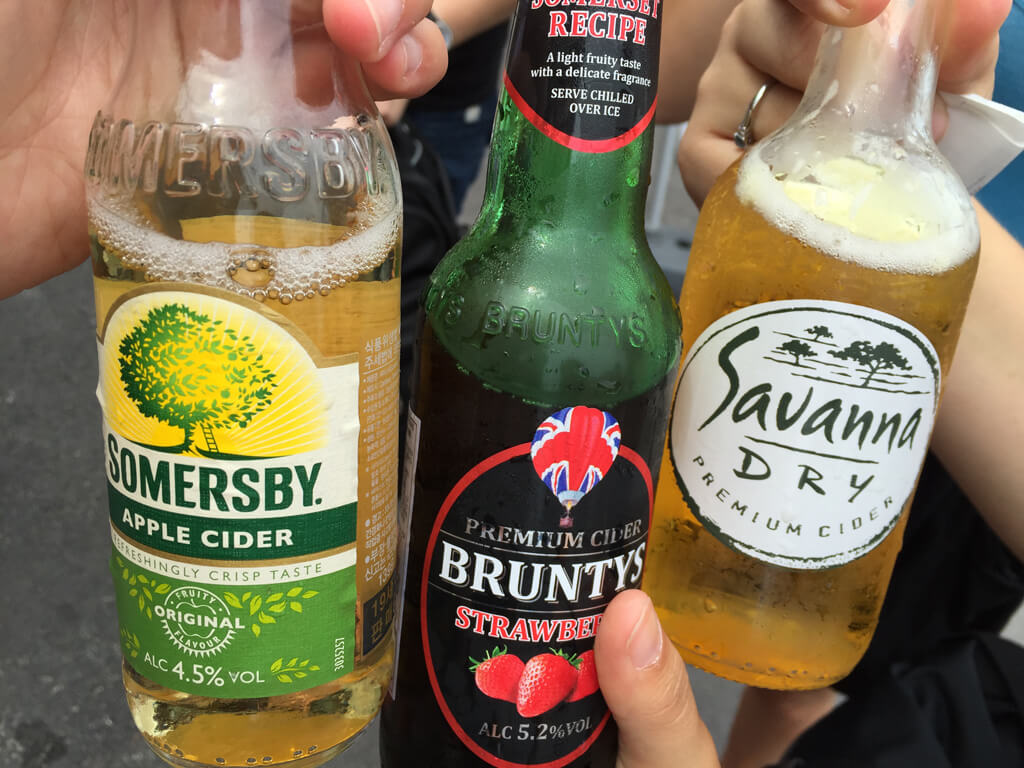 Gwakji Beach Cider Treats