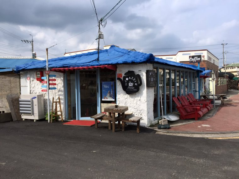 Joazzi Cafe on Jeju Island