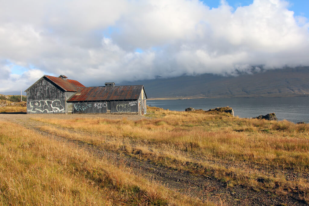 Iceland Abandoned Tin Barn