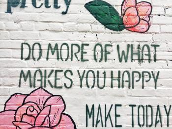 2019 Mantra - Do More of What Makes You Happy
