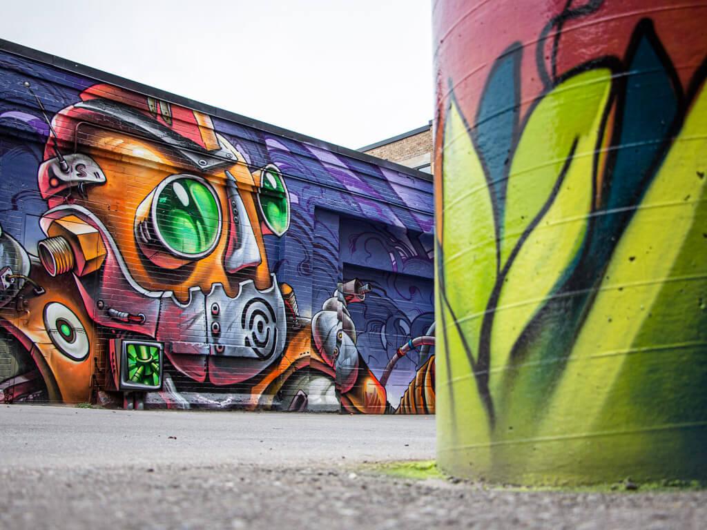 Bruno Smoky's DTKitchener Street Art