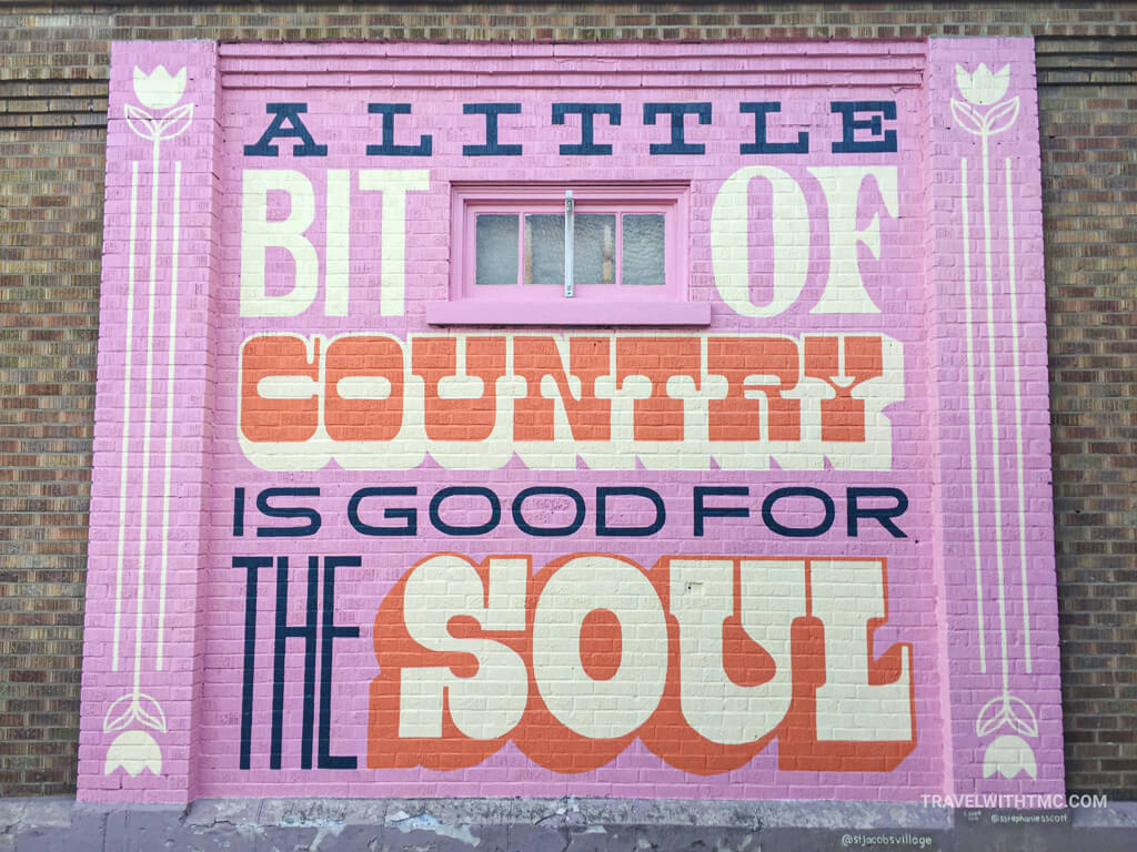 Stephanie Scott's Country is Good for the Soul Mural