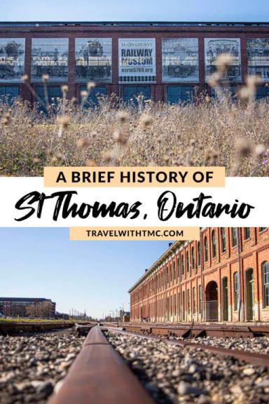 A Brief History of St. Thomas, Ontario
