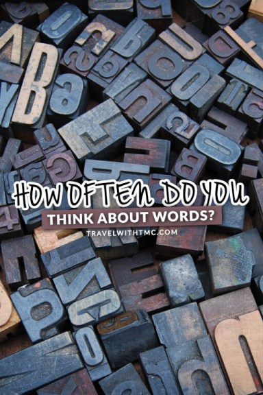 How Often Do You Think About Words?