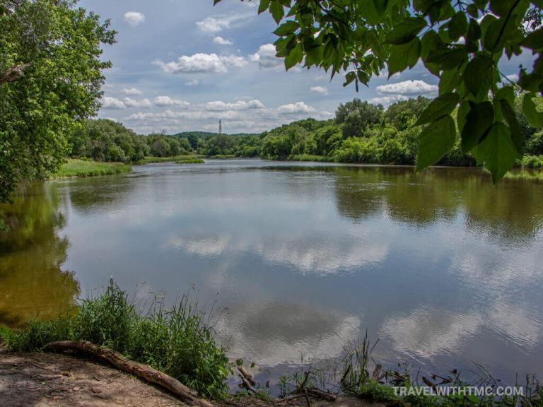Grand River Cloud Reflections
