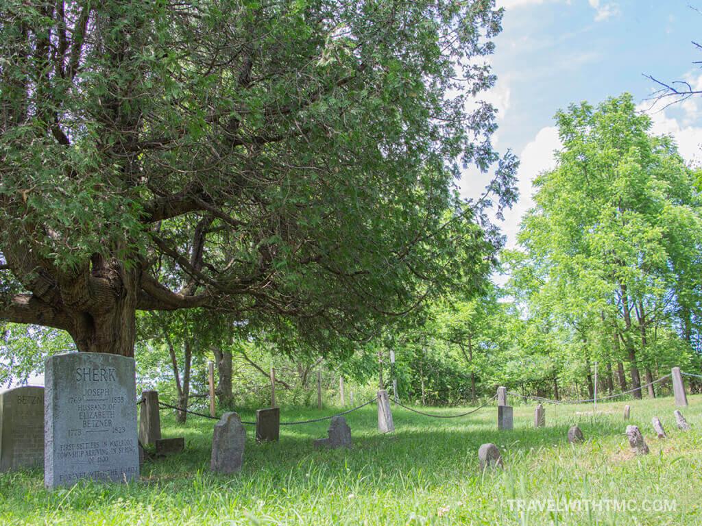 Ontario's First non-Aboriginal Gravesite in Kitchener