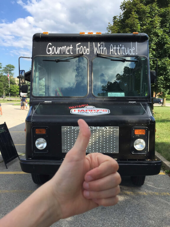 Travel with TMc 2020 Kitchener Food Truck Series at Hangry Harry's