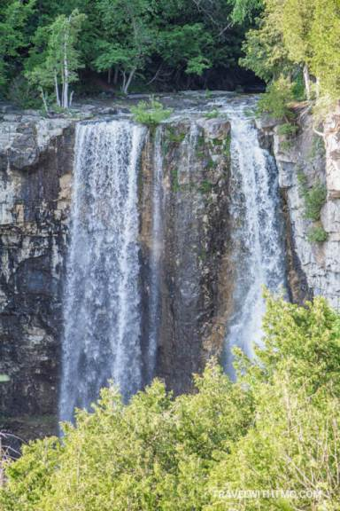 Eugenia Waterfalls on the Grey County Waterfall Tour