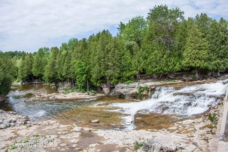 Grey County Waterfall Tour stop at McGowan Falls
