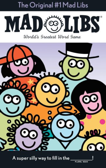 Mad Libs word game