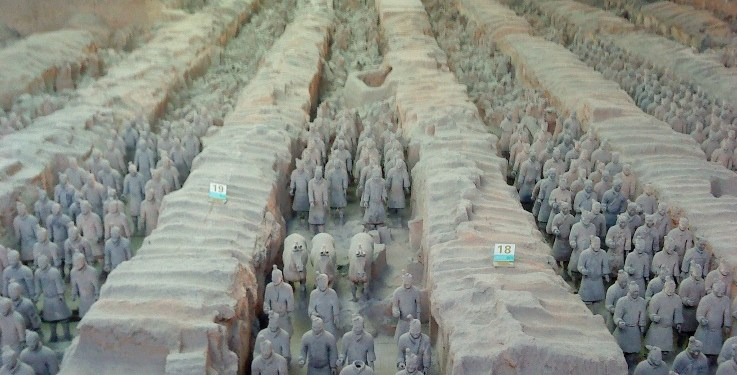 The Mausoleum of the First Qin Emperor