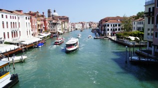 Taken from the Rialto Bridge