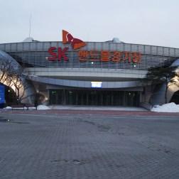 The Handball Stadium.