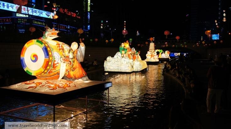 Cheongye Stream - Lotus Lantern Festival