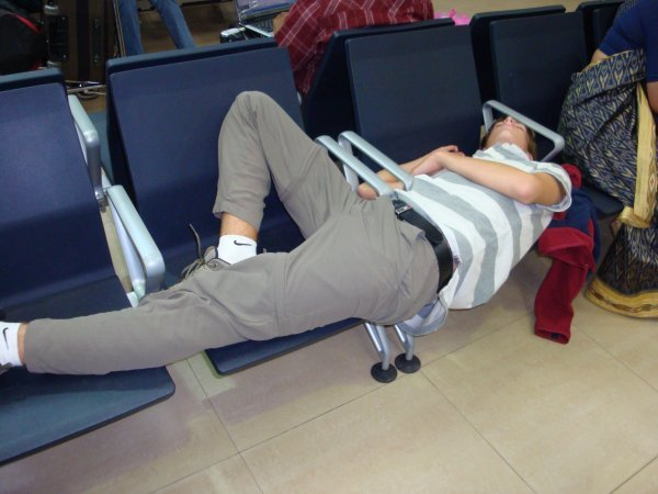 Sleeping in an Airport - Travel Planning for Beginners