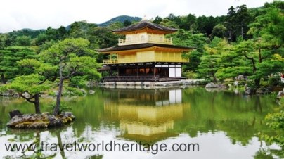 The Golden Pavillion in Kyoto Japan is a top attraction for a reason. That reflection is priceless.