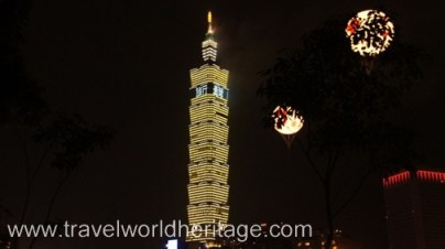 Once the tallest building in the world, Taipei 101 has a fantastic fireworks show every New Year's Eve.