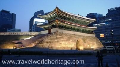 One of the four main gates into ancient Seoul, Namdaemun.