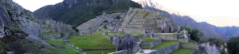 Panoramic - Machu Picchu