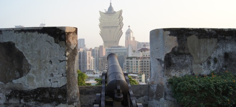 UNESCO Monday #7: Shooting Down the Lisbon Hotel in Macao