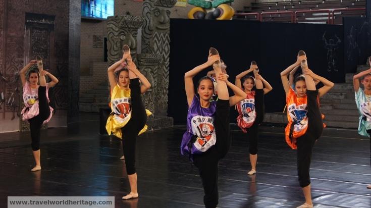 China Team - Andong Mask Fesitval