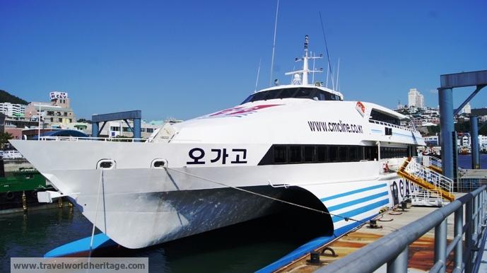 Yacht to Sado?