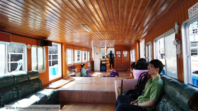 Passengers to Sado Island